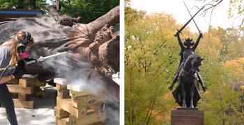 King Jagiello Statue
