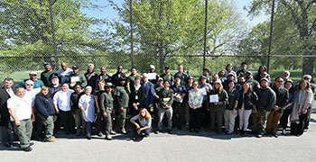 Community Parks Initiative Gardner Training Program Graduation