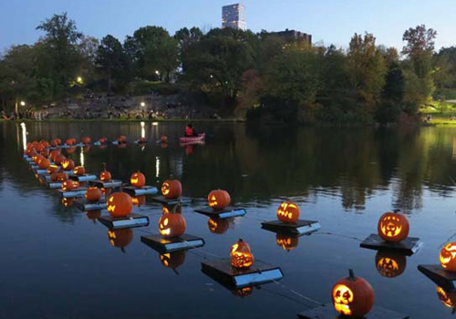 Halloween Pumpkin Flotilla - The Official Website of Central Park NYC
