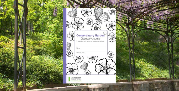 Discovery Journal for Conservatory Garden