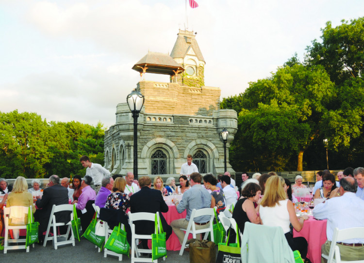 Chairman's Circle event at Belvedere Castle
