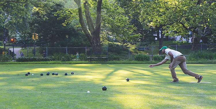 Bowling and Croquet Greens