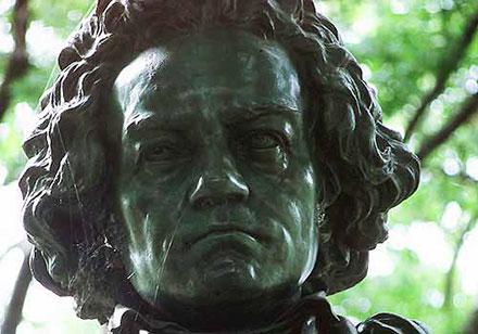Beethoven statute