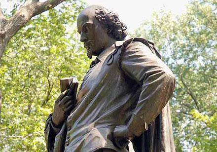 Shakespeare statute