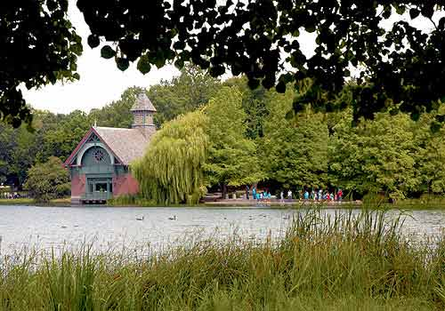 Harlem Meer The Official Website Of Central Park Nyc