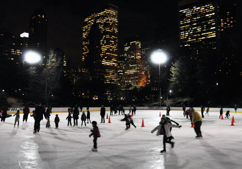 Ice Skating, Wollman Rink