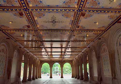 Minton Tile Ceiling At Bethesda Terrace The Official
