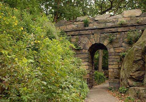 ramble stone arch