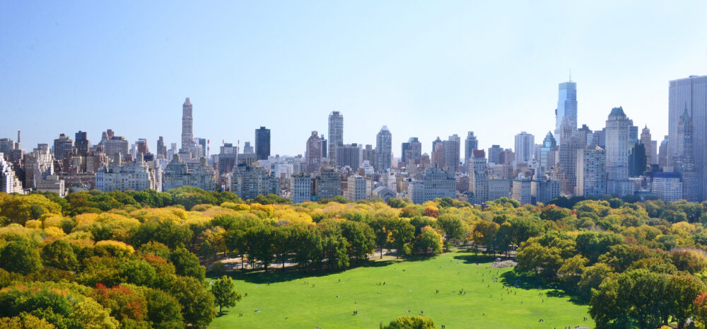 Sheep Meadow Aerial Central Park credit the Central Park Conservancy