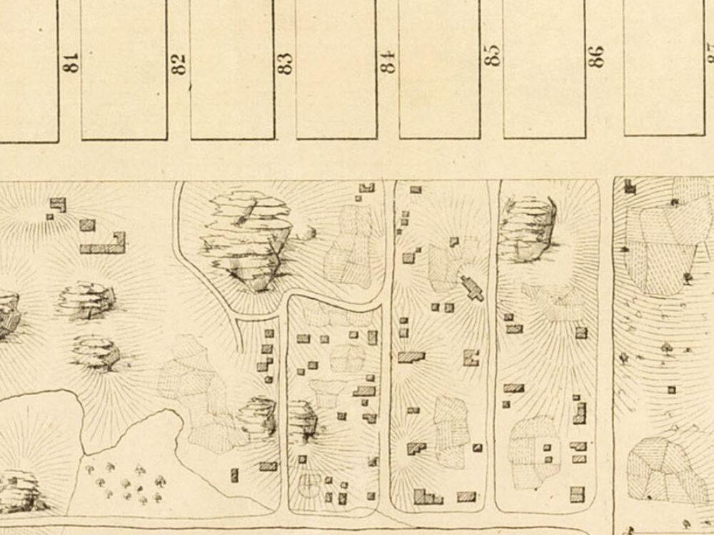 1856 Viele Map Of Lands In CP SV Crop 1