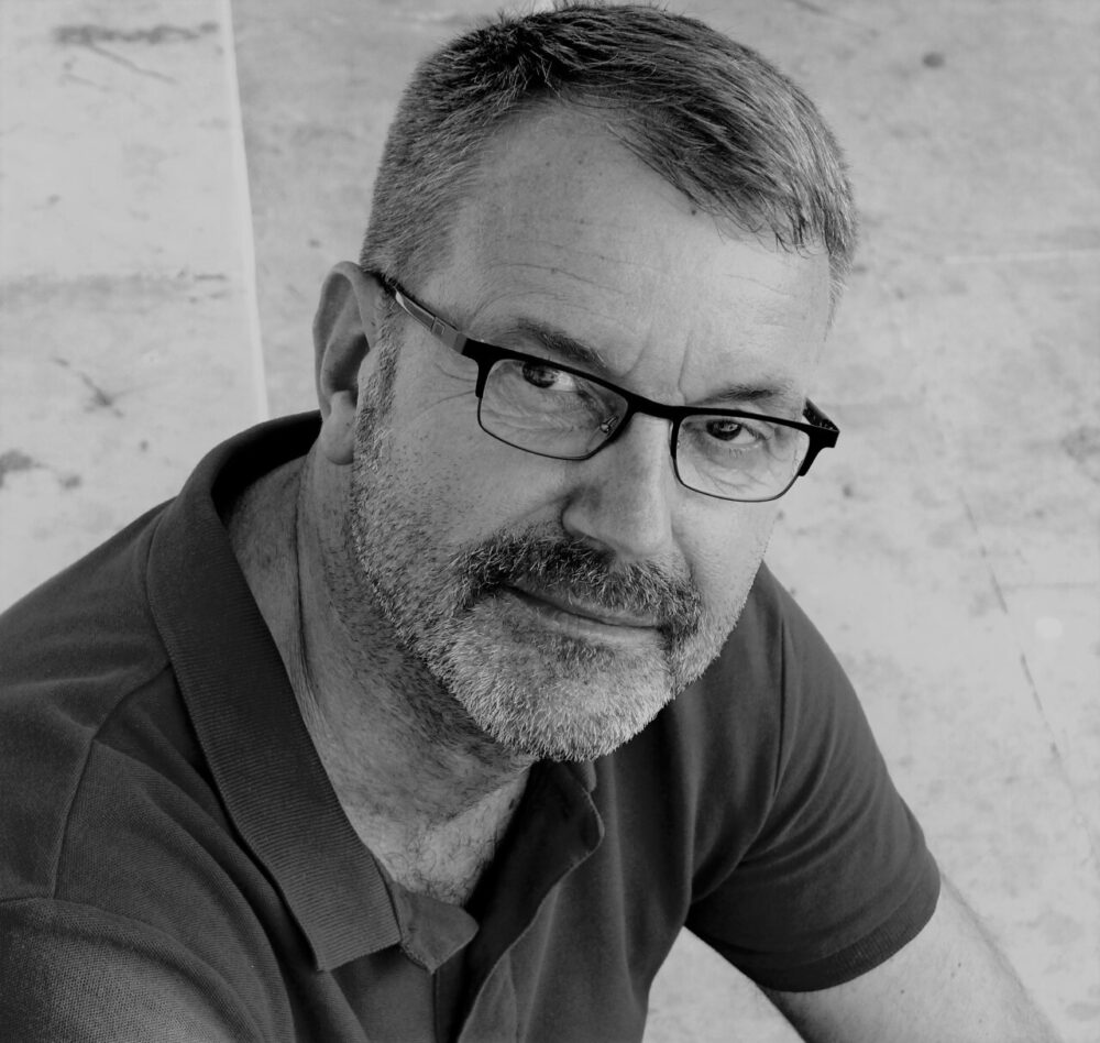 Portrait of the author Bernd Brunner