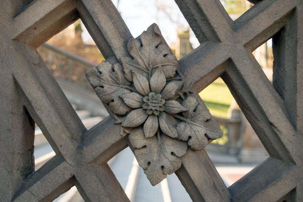 Detail of decorative stonework