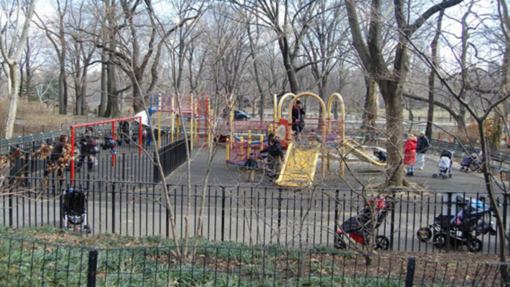 The Playground before reconstruction