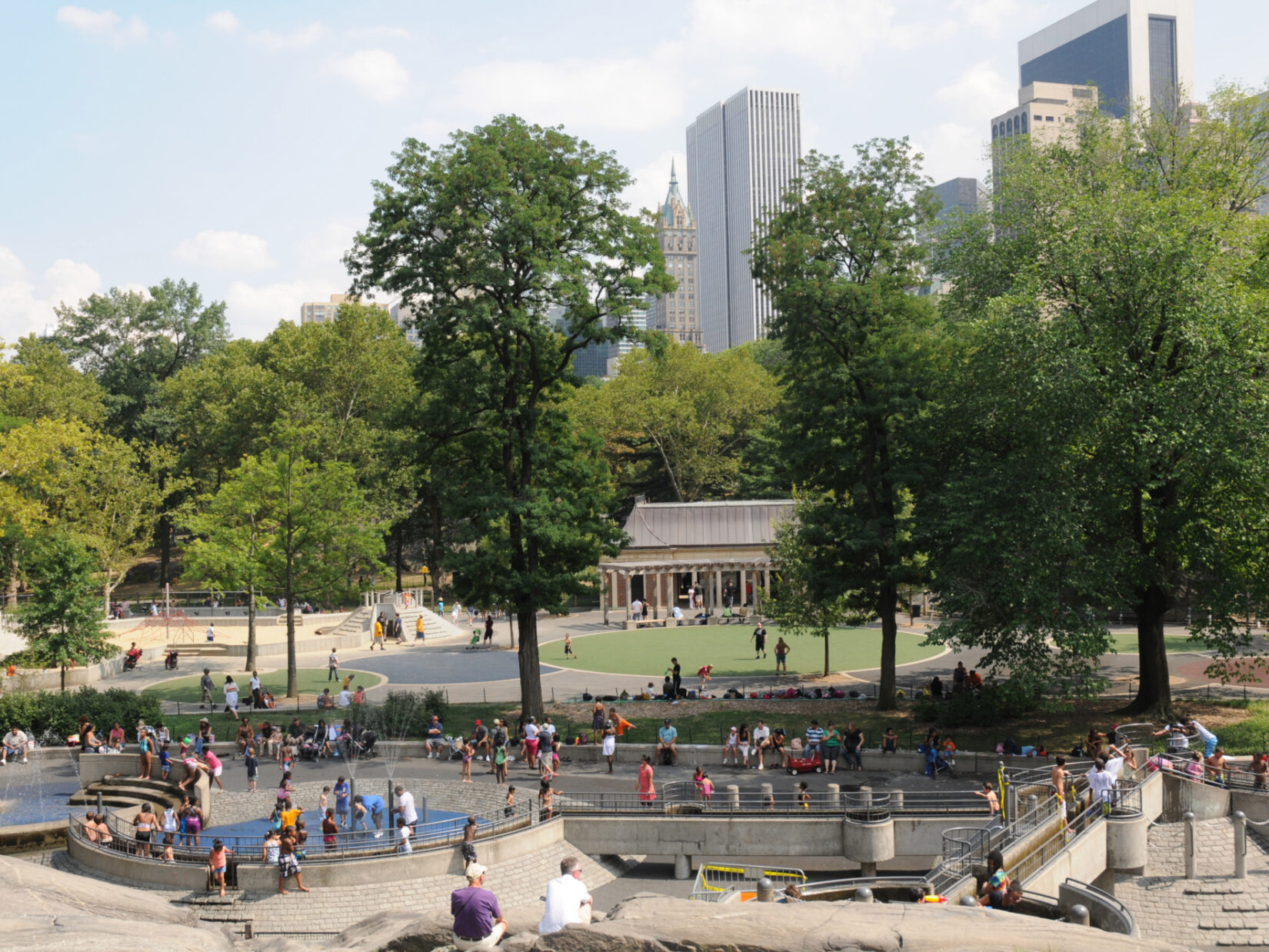 Hecksher Playground Central Park credit the Central Park Conservancy