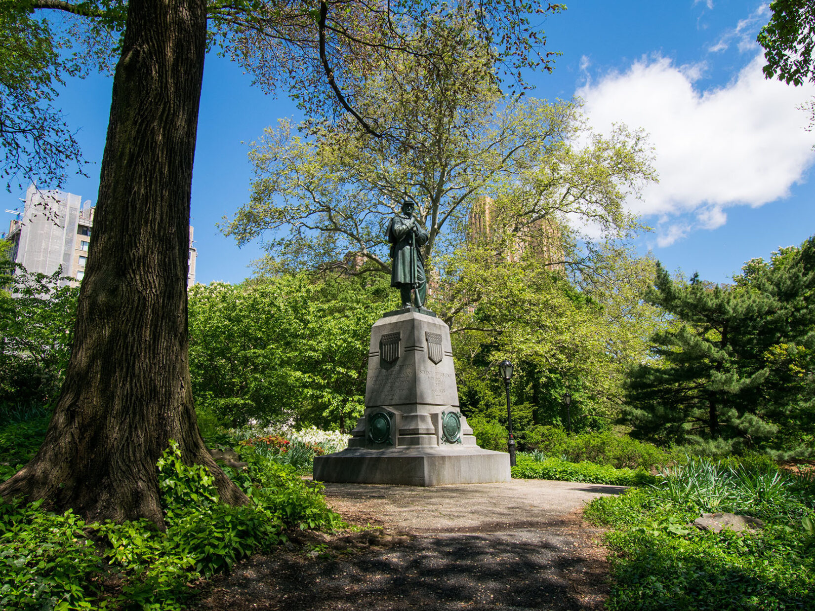Honoring Veterans in Central Park