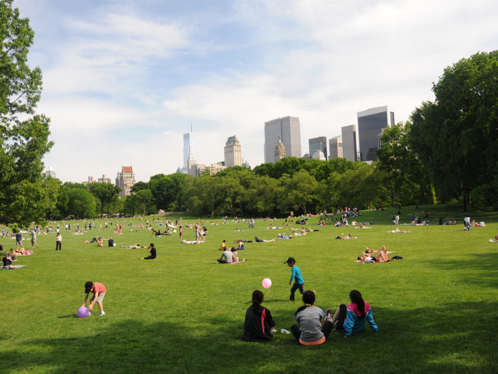 Sheep Meadow Central Park credit the Central Park Conservancy