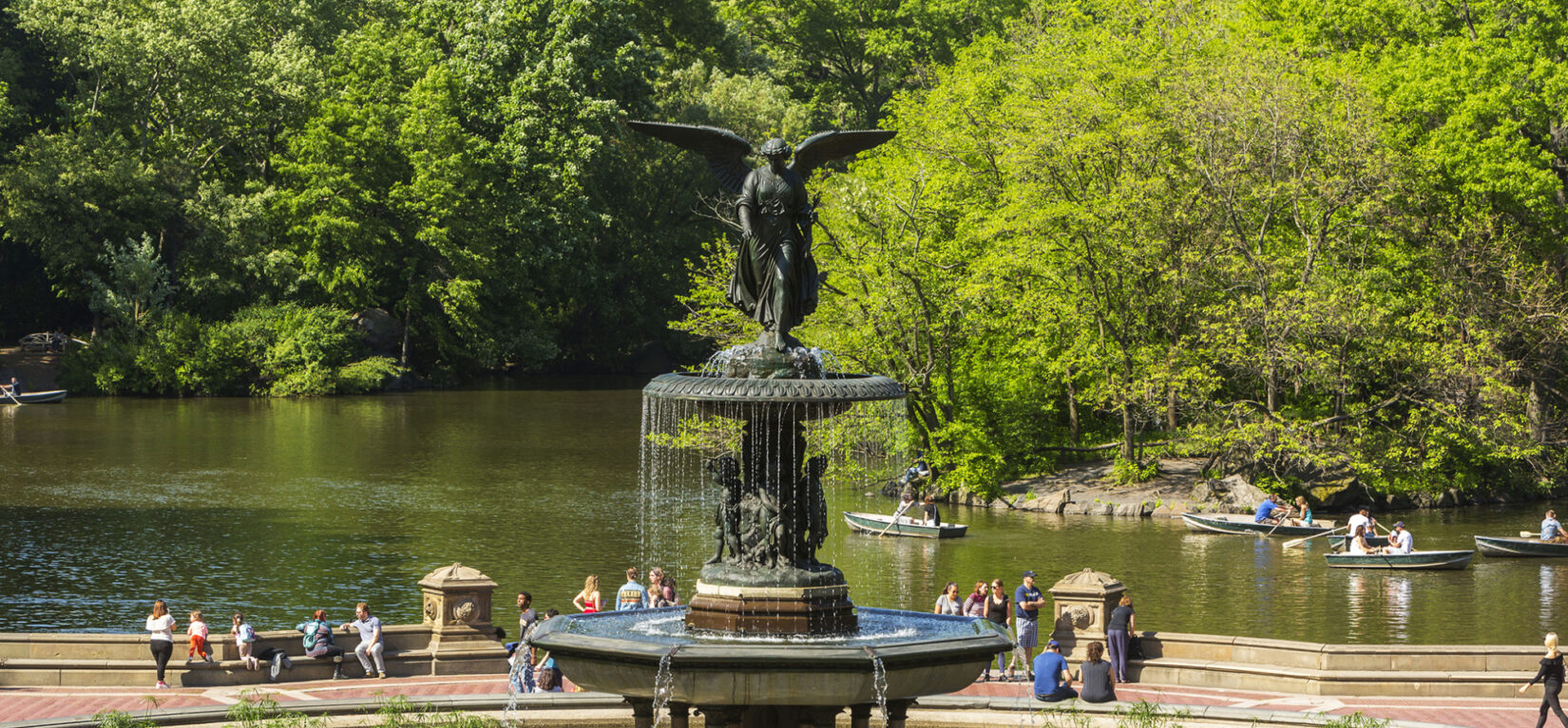 Bethesda Terrace and Fountain