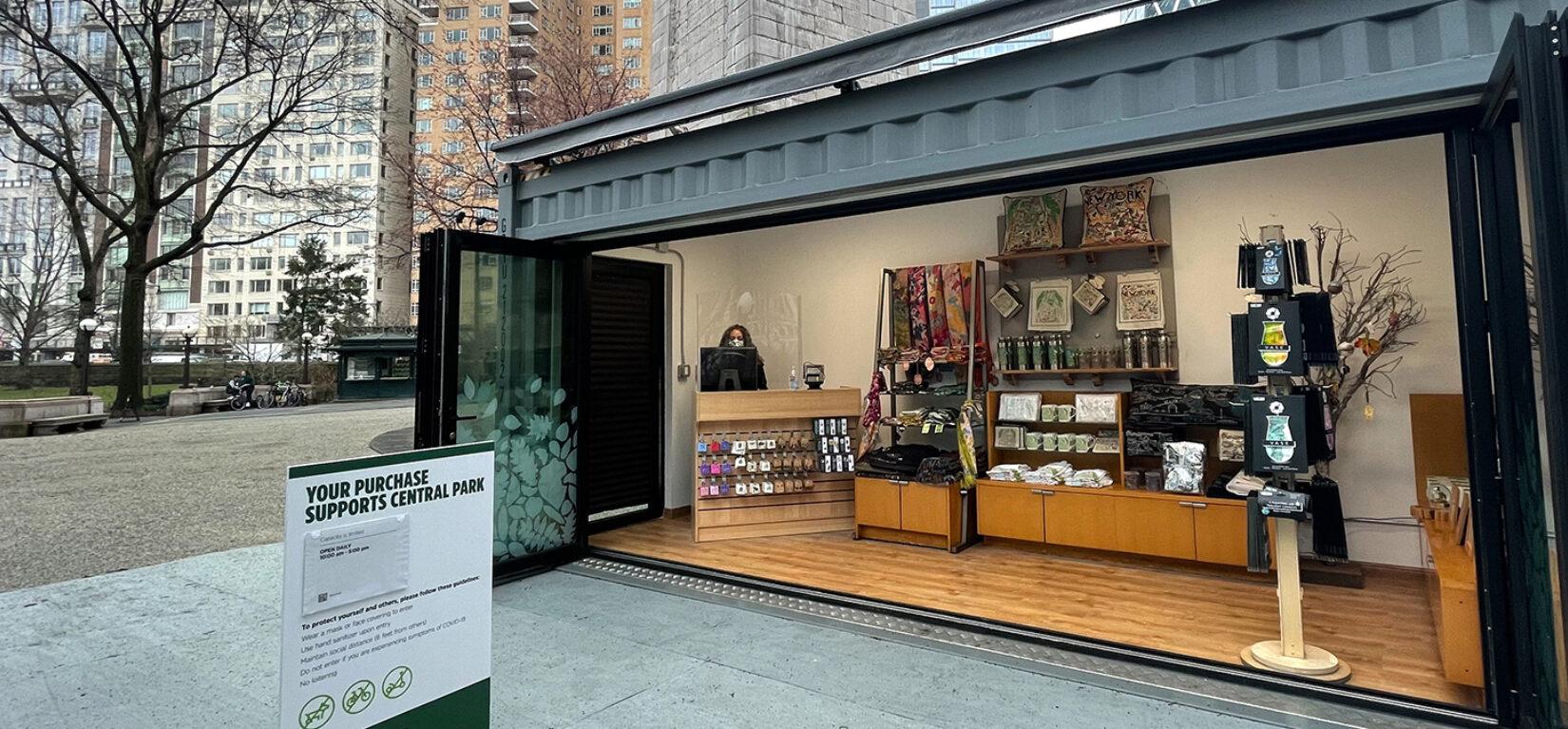 Central Park Conservancy Pop Up Shop