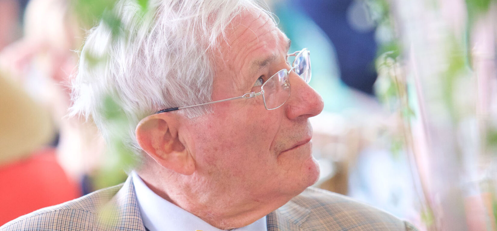 Portrait image of Richard Gilder late in life