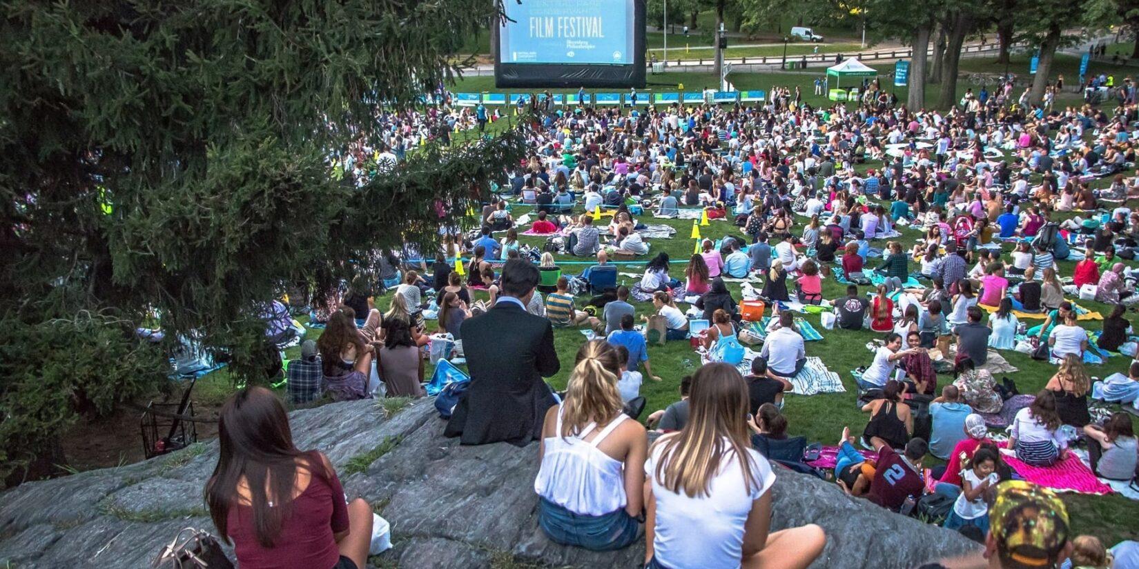 Central Park Conservancy Film Festival 1