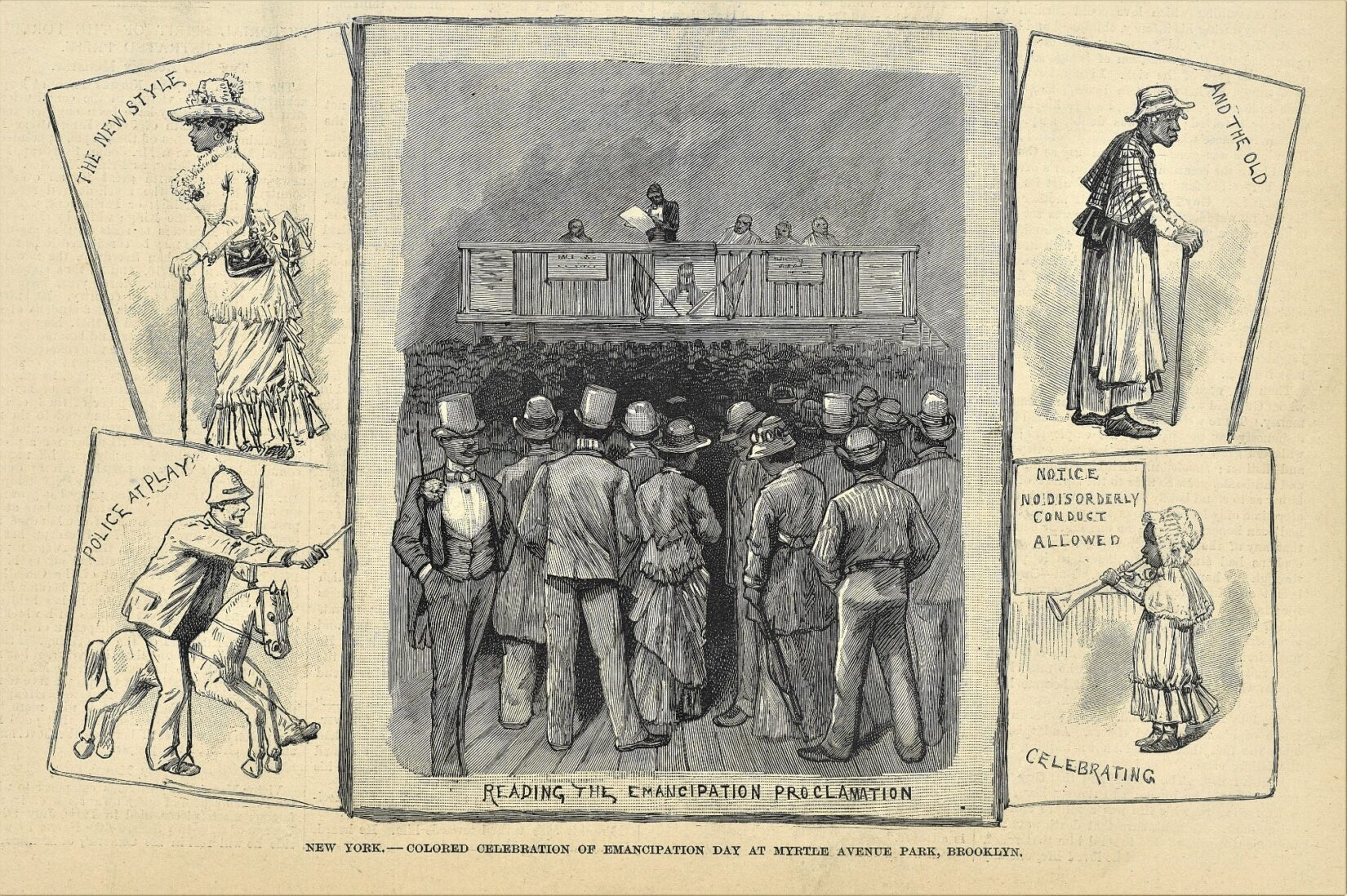 The illustrations in the yellowed image are hand-drawn and typical of the time.