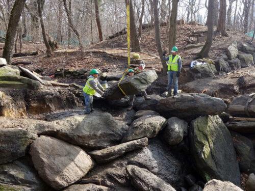 Ramble boulders