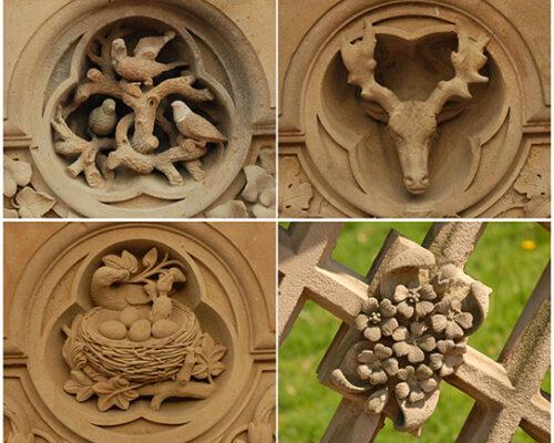 Vaux carvings