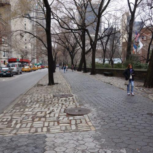 Fifth Avenue perimeter before construction