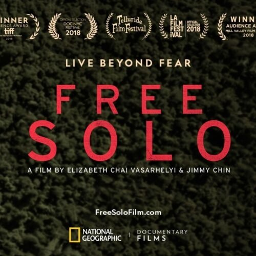 """Poster for the movie """"Free Solo"""""""
