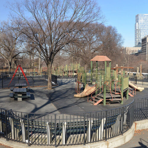 The Kempner Playground before reconstruction