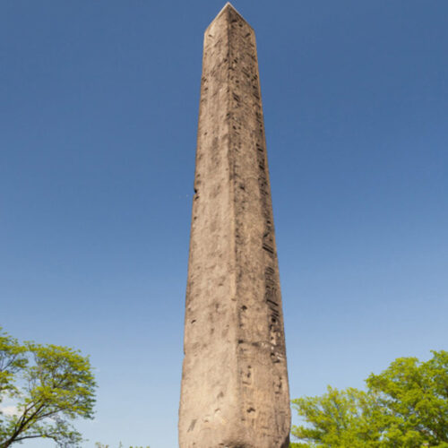 The Obelisk before its conservation