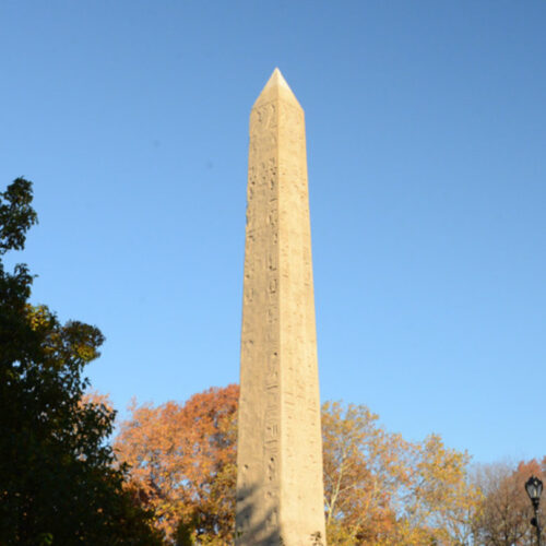The Obelisk restored