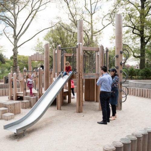 Wild west playground after