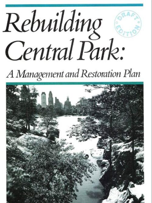 Cover of a rebuilding plan from 1985.