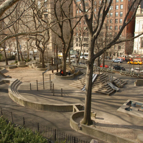 Playground before reconstruction