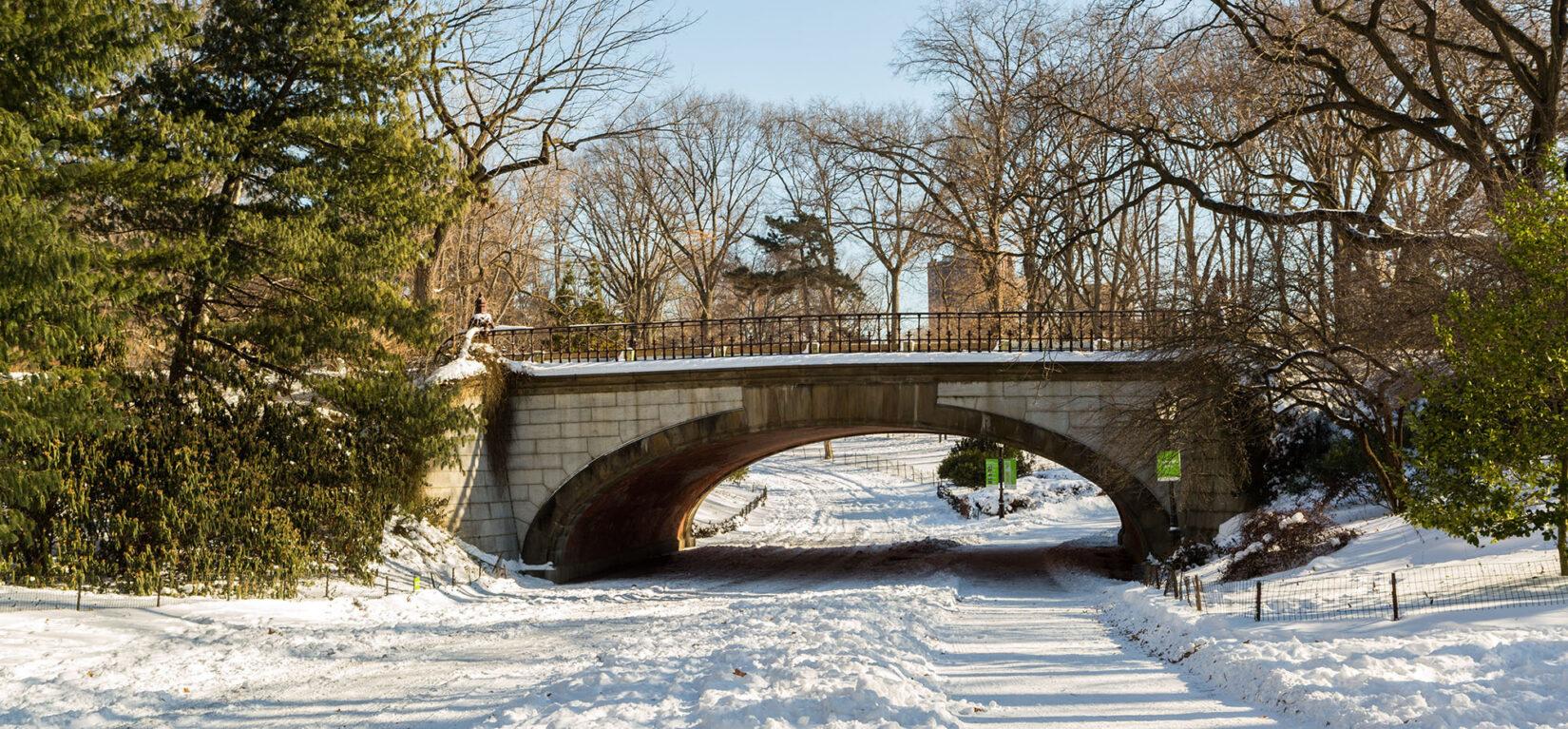 Winterdale Arch Snow January 2018 0002